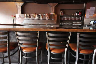 bar stools at Renegade Publik House