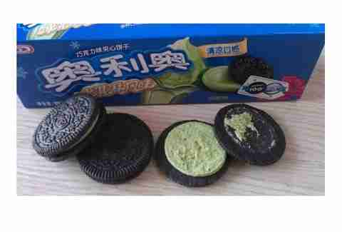 green tea ice cream Oreos