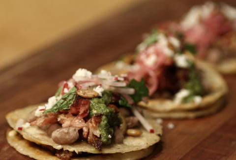 Lamb taco for The Thrillist Taco Knockout