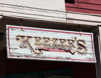 Sign for Keezer's Boston