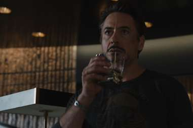 Tony Stark drinks Scotch in The Avengers.
