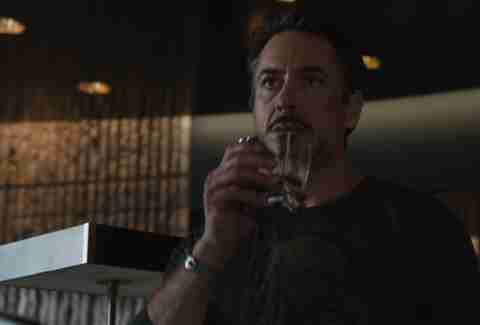 Tony Stark drinks Scotch in The Avengers.
