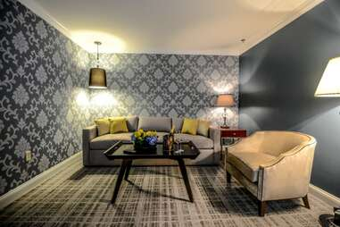 The Graham Hotel Suite Living