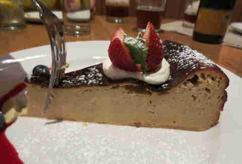 Cheesecake at Racanelli's