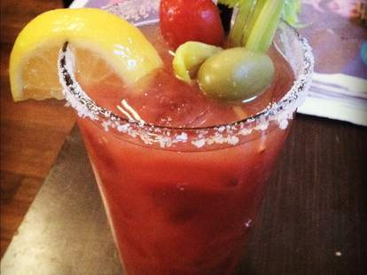 Bloody Mary at Genies in Portland