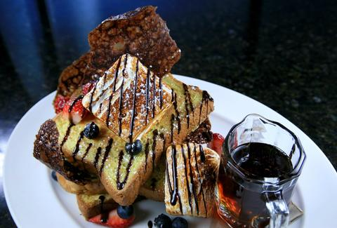 French toast at Brunch
