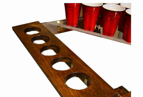 Maple and Lexan Beer Pong Table