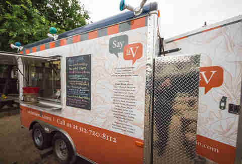 Say laV food trailer