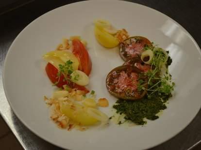 Salad at Lacroix