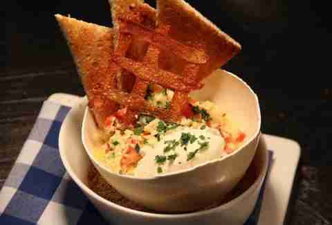 Lobster scramble from David Burke Kitchen