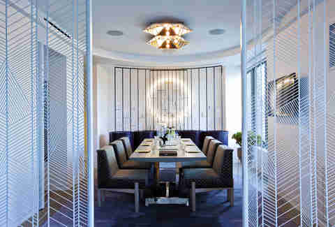 W New York - Times Square Extreme WOW Suite Dining/Meeting room