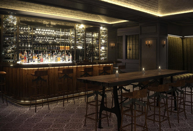 A boutique hotel with a secret restaurant and roofdeck bar