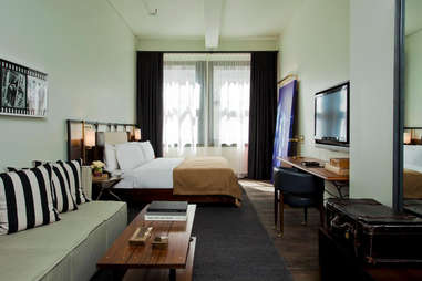 Room at the Refinery Hotel