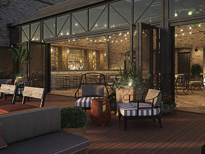 Roofdeck at Refinery Hotel