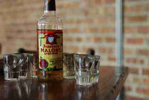 A bottle of Malort