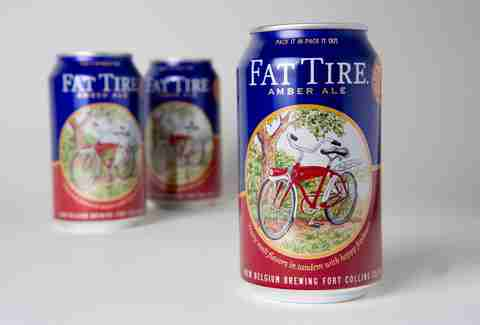 Fat Tire New Belgium Brewing