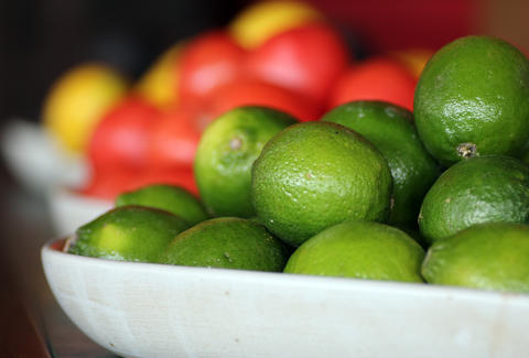 Bowl of Limes at Papagayo Charlestown
