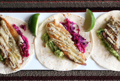Papagayo's Fish Tacos