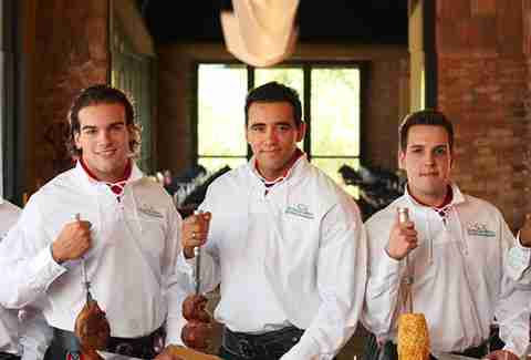 The Gauchos at Rodizio Grill
