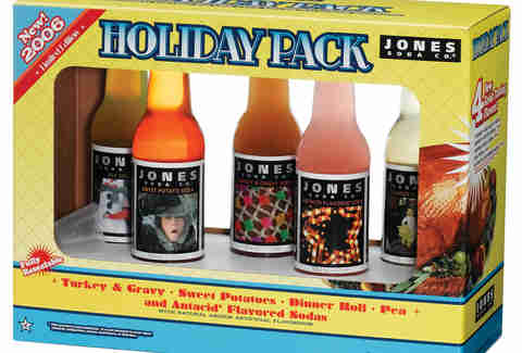 Holiday Pack of Jones Soda