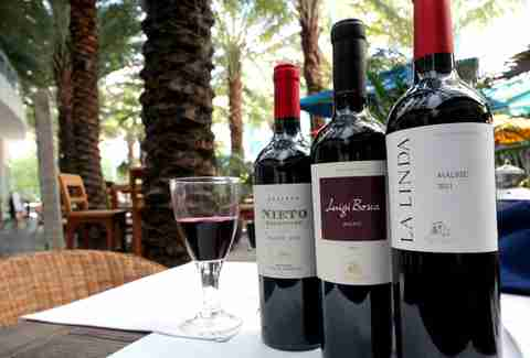 Wines under $20 at Juana M Brickell