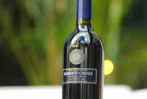 Humberto Canale Cabernet Franc and Juana M Brickell