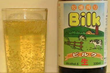 Bilk milk beer