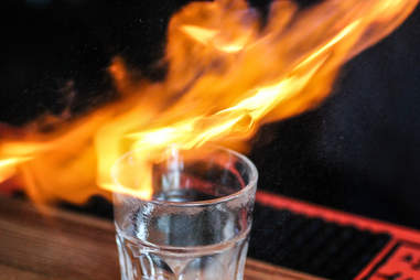 Black Whiskey Flame