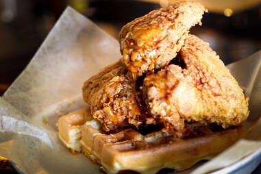 Illegal Food - Chicken & Waffles