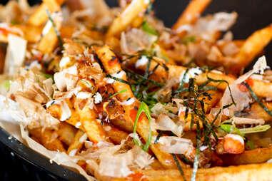 Illegal Food - Okonomiyaki Style Fries