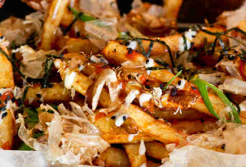 Illegal Food - Okonomiyaki Style Fries