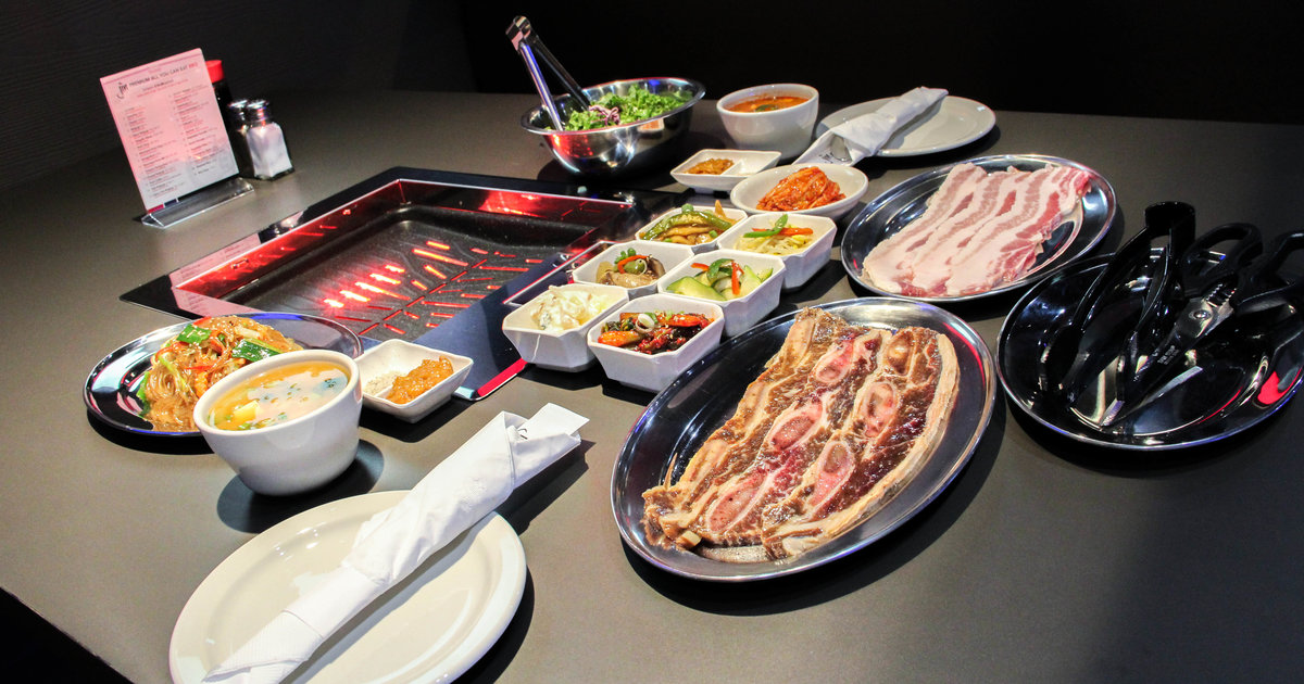Jin Korean BBQ - Grill your meats using infrared grills ...