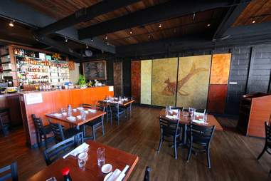 Billy Beach Sushi Interior