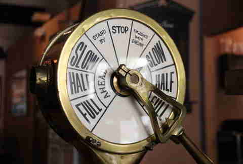 Steamship control at Sydney Town Tavern