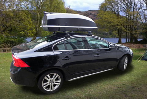 Boatpack on top of sedan