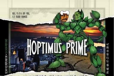 hoptimus prime ruckus brewing company