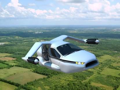 Terrafugia TF-X in flight