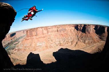 Moab B.A.S.E Adventures Inset Jump