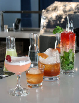 Handcrafted cocktails and bar bites at W Downtown