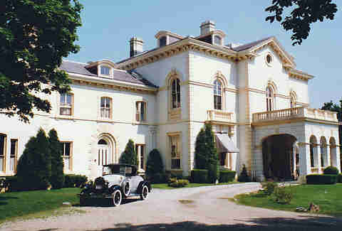 The Astors' Beechwood Mansion - Newport, RI