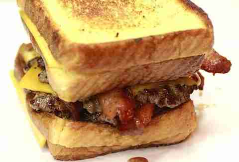 The grilled cheese burger.
