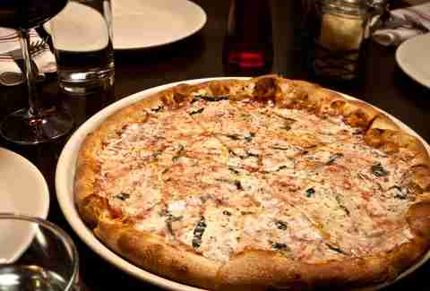 Pizza at Osteria Marco in Denver