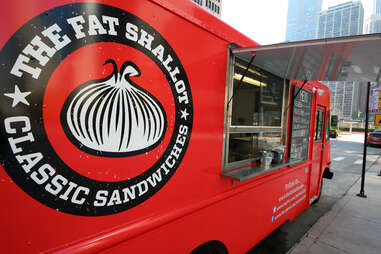 The Fat Shallot food truck