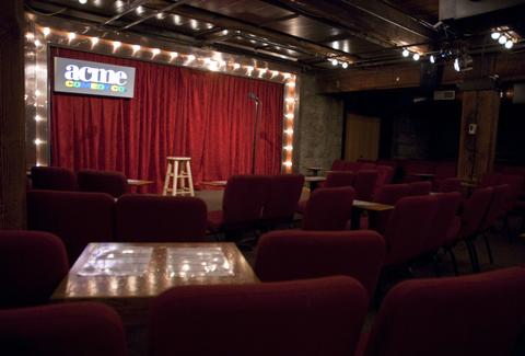 Inside Acme Comedy Club in Minneapolis
