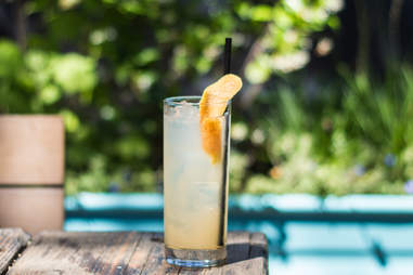Desert Collins sotol cocktail