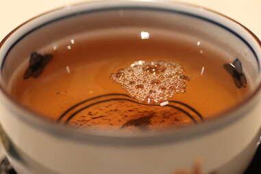 tea at Nozawa Bar, Beverly Hills
