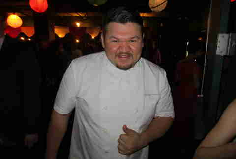 Tequila Park's sous chef at Wine Enthusiast's 25th