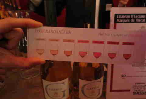 The rose spectrum at Wine Enthusiast's 25th