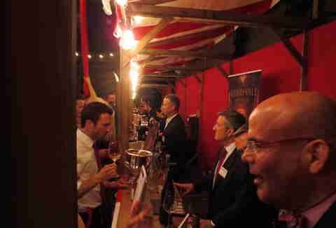 Vintners at Wine Enthusiast's bash