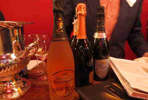 Italian sparkling wines at Wine Enthusiast's bash